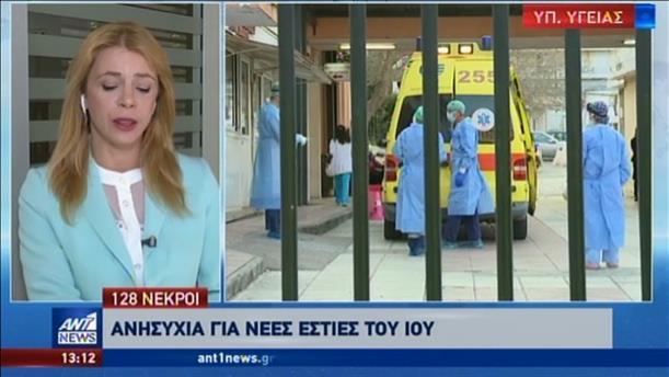 Κορονοϊός: ακόμη τρεις θάνατοι στην Ελλάδα