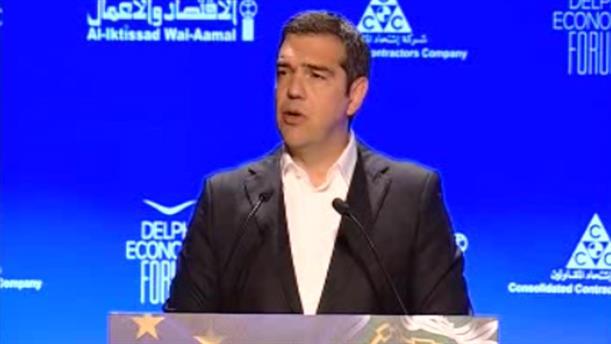 Ομιλία Αλέξη Τσίπρα στην Αραβική Σύνοδο