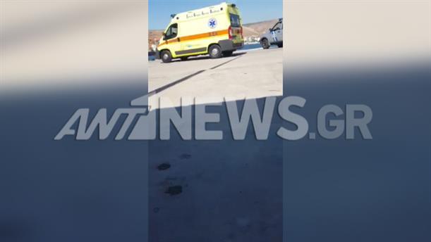 Αυτοκίνητο έπεσε στο λιμάνι της Δραπετσώνας