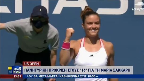 US Open: Νέα μονομαχία της Μαρίας Σάκκαρη με τη Σερένα Γουίλιαμς