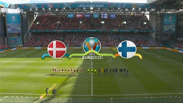 ΔΑΝΙΑ - ΦΙΝΛΑNΔΙΑ (1ο ημίχρονο) - EURO 2020