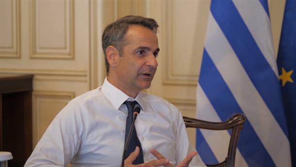 Τηλεδιάσκεψη του  Κυριάκου Μητσοτάκη με τους προέδρους ΝΟΔΕ