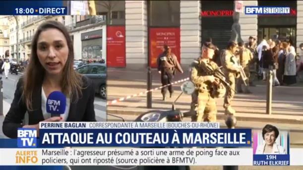 Επίθεση με μαχαίρι στη Μασσαλία