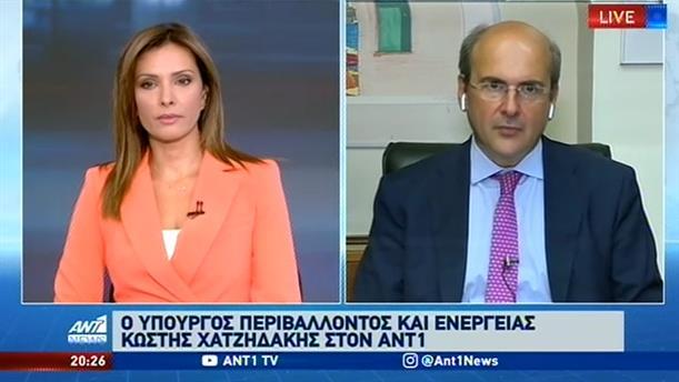 Ο Κωστής Χατζηδάκης στον ΑΝΤ1 για το νέο Πολεοδομικό Σχέδιο