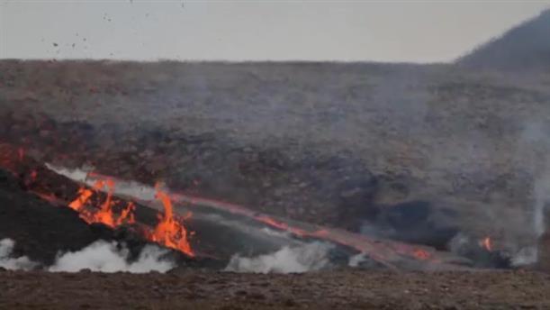 Νέα έκρηξη στο ηφαίστειο στην Ισλανδία