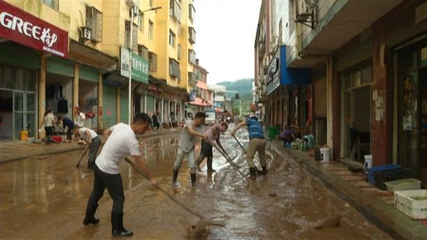 Πλημμύρες στην Κίνα προκάλεσαν οι έντονες καταιγίδες