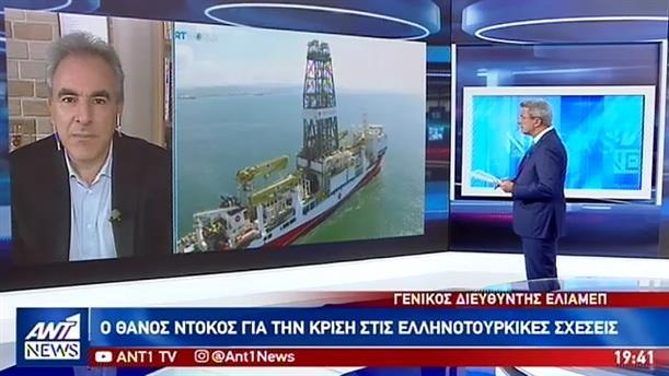 Ο Θάνος Ντόκος στον ΑΝΤ1 για τις τουρκικές προκλήσεις και την κυπριακή ΑΟΖ