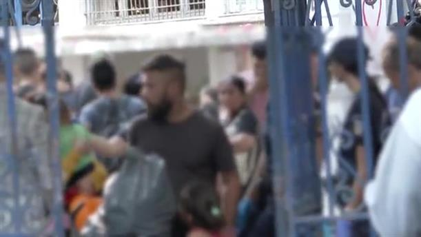 Αστυνομική επιχείρηση εκκένωσης υπό κατάληψη κτιρίων