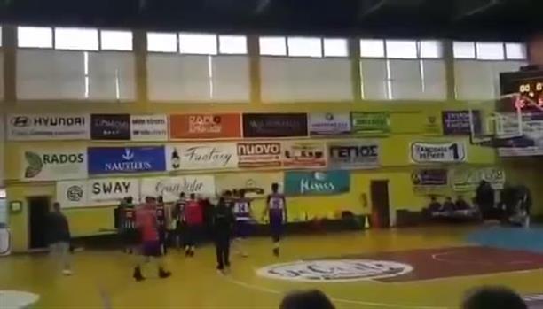 Άγριο ξύλο σε αγώνα μπάσκετ στην Κέρκυρα