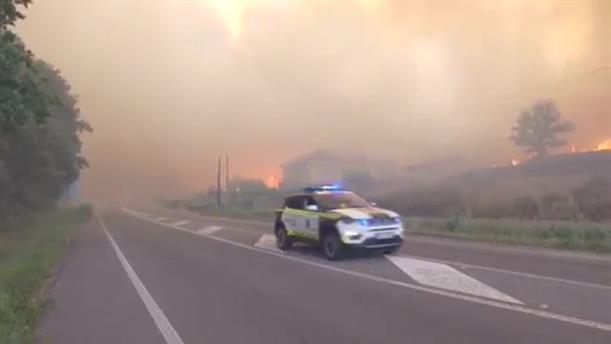 Ισπανία: Δασικές πυρκαγιές μαίνονται στη Γαλικία