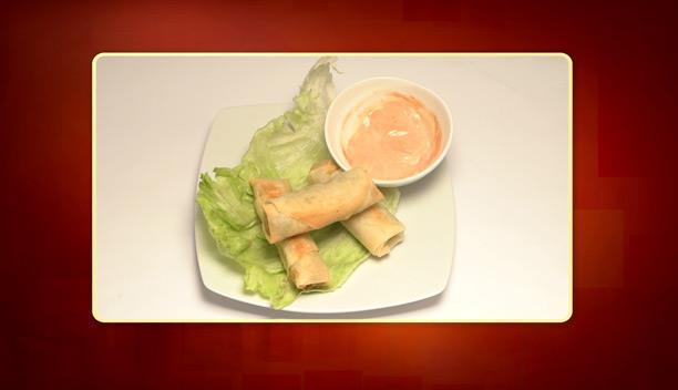 Spring rolls λαχανικών της Φανής - ορεκτικό - Επεισόδιο 40