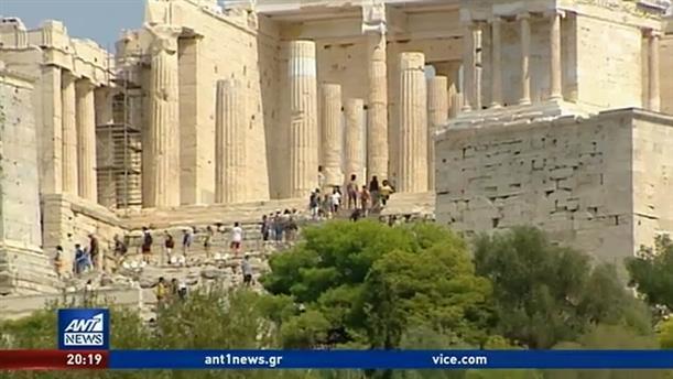 Ο κορονοϊός άδειασε την Αθήνα