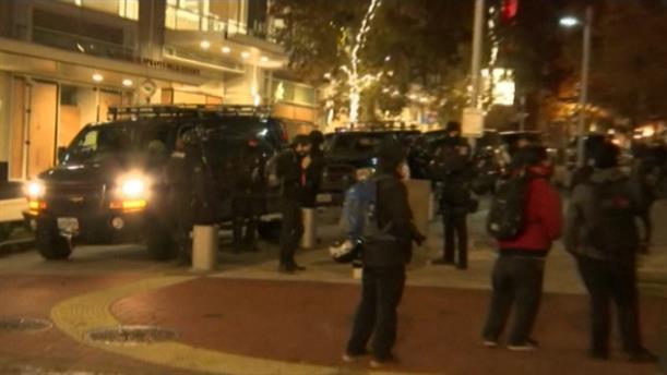 Εκλογές - ΗΠΑ: Δυνάμεις της αστυνομίας στο κέντρο του Πόρτλαντ