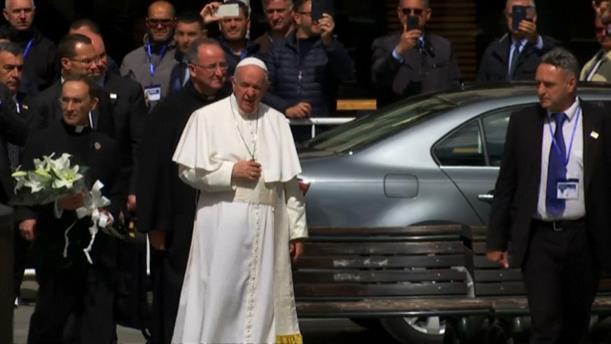Επίσκεψη του Πάπα Φραγκίσκου στη Βόρεια Μακεδονία