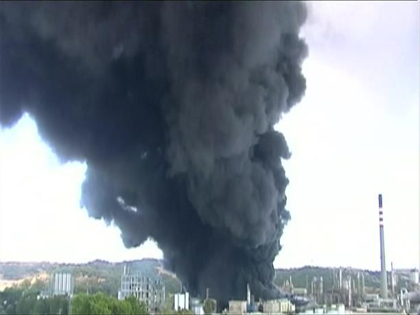 Έκρηξη σε διυλιστήριο κοντά στο Γιβραλτάρ