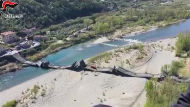 Κατάρρευση γέφυρας στην Τοσκάνη