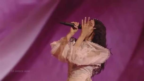 Eurovision: η εμφάνιση της Κατερίνας Ντούσκα στον τελικό