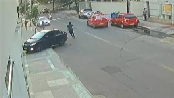 Βραζιλία: Xτύπησε κλέφτη με το αυτοκίνητο