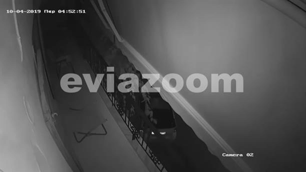 Εύβοια: Η στιγμή που ληστές κλέβουν αυτοκίνητο
