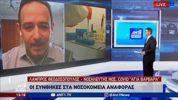 """Θεοδοσόπουλος: είμαστε σε """"εμπόλεμη κατάσταση"""" με τον κορονοϊό"""