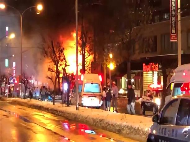 Ολοσχερώς καταστράφηκε εστιατόριο μετά από έκρηξη