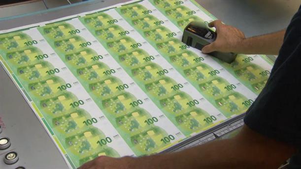 Η διαδικασία παραγωγής των νέων τραπεζογραμματίων