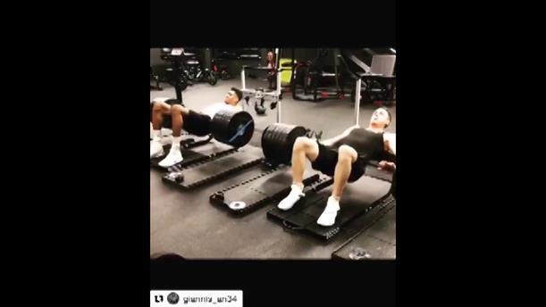 Ο Γιάννης Αντετοκούνμπο σηκώνει 260 κιλά!