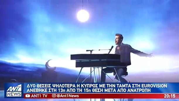 Ανατροπή στην κατάταξη της Eurovizion μετά το σκάνδαλο στην Λευκορωσία