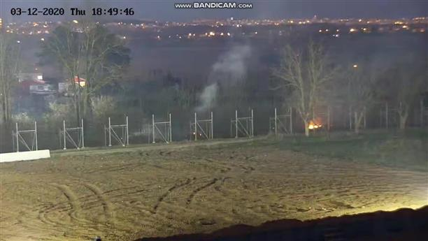 Μικρής έντασης πυρκαγιές στον φράχτη στον Έβρο