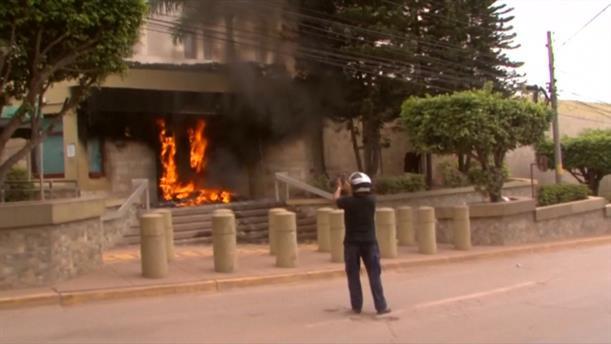 Εμπρηστική επίθεση στην Πρεσβεία των ΗΠΑ στην Ονδούρα