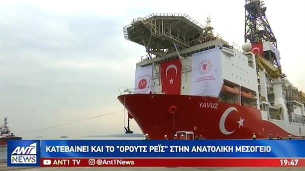 Κρεσέντο προκλήσεων της Τουρκίας από ξηράς και θαλάσσης