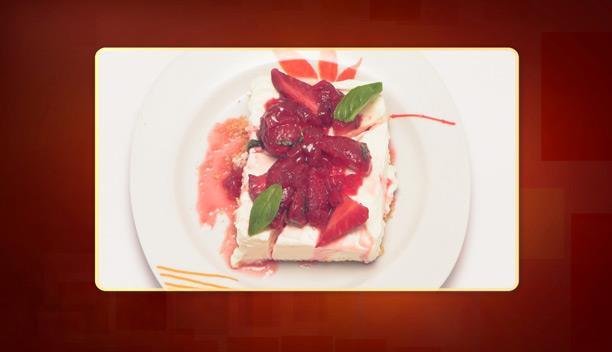 Cheese cake με σπιτική μαρμελάδα φράουλα του Μιχάλη - Επιδόρπιο - Επεισόδιο 67