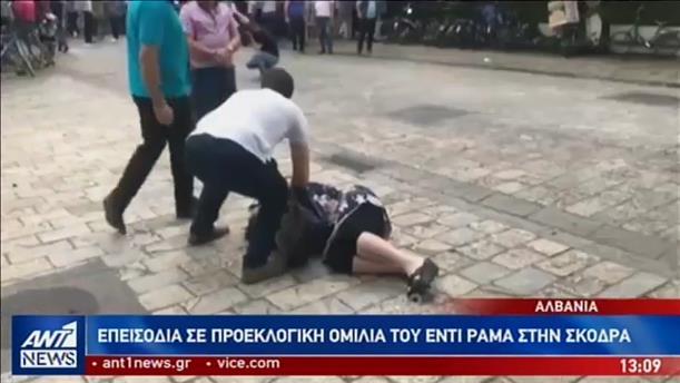 Νέες ταραχές στην Αλβανία κατά του Ράμα