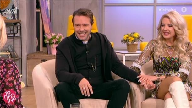 Ο Στράτος Τζώρτζογλου και η Σοφία Μαριόλα στο «Πρωινό»