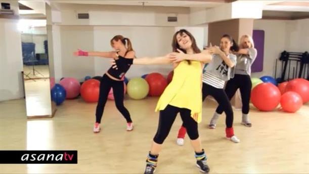 Πρόγραμμα γυμναστικής και χορού με latin