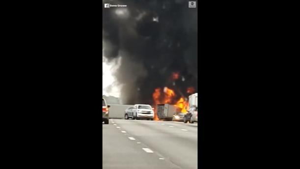 Νεκροί από έκρηξη μετά από σύγκρουση στη Φλόριντα