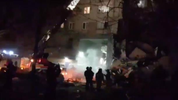 Ρωσία: Κατάρρευση πολυκατοικίας έπειτα από έκρηξη