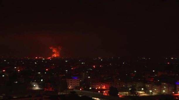 Ρουκέτες από τους Παλαιστίνιους, πύραυλοι από το Ισραήλ