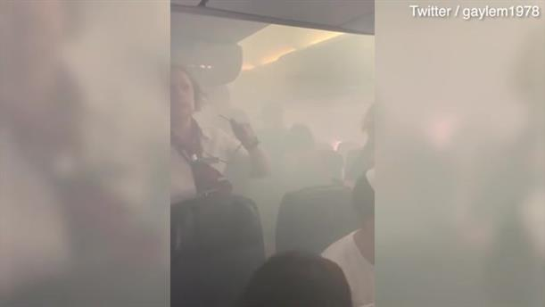 Αναγκαστική προσγείωση αεροσκάφους. Γέμισε καπνό η καμπίνα επιβατών