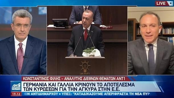 Φίλης στον ΑΝΤ1: Σε σύγχυση η ΕΕ για τις προκλήσεις της Τουρκίας