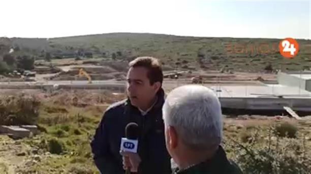 Δηλώσεις του Νότη Μηταράκη κατά την επίσκεψή του στη Σάμο