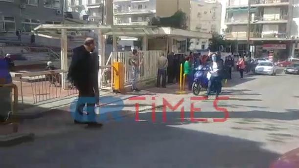 Ουρές στο Αντικαρκινικό Νοσοκομείο Θεσσαλονίκης, «Θεαγένειο»