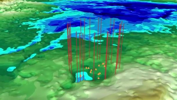 Δεύτερος γιγάντιος κρατήρας κάτω από την Γροιλανδία