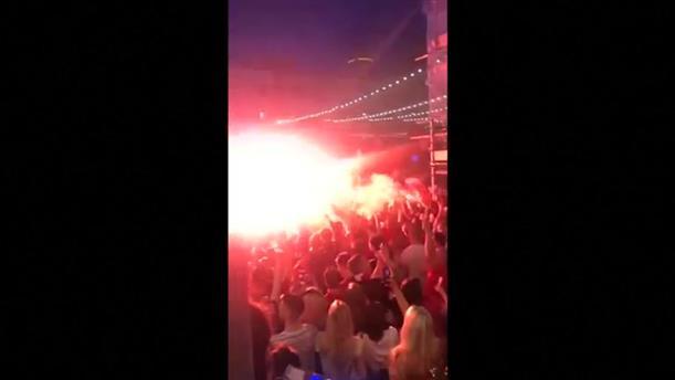 Τρελοί πανηγυρισμοί στο Λίβερπουλ για το Champions League