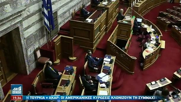 """Βουλή: Σκληρό """"μπρα ντε φερ"""" μεταξύ των πολιτικών αρχηγών"""