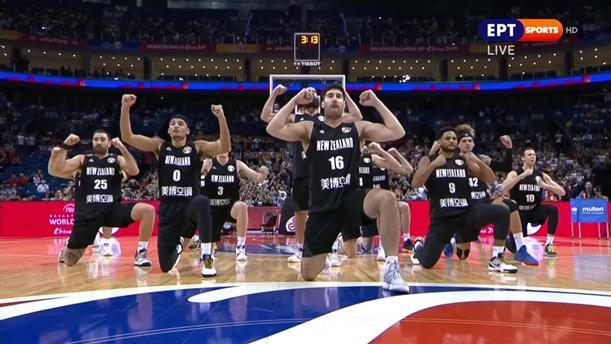 """Νέα Ζηλανδία: Ο χορός """"χάκα"""" πριν τον αγώνα με την Ελλάδα"""