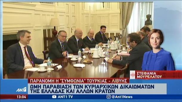 Ανακοινώθηκε η απέλαση του Λίβυου πρέσβη στην Αθήνα
