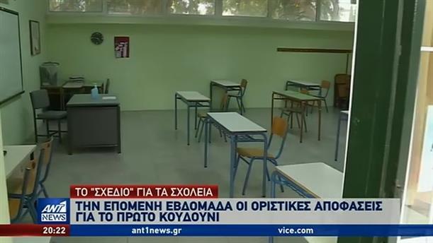 Κορονοϊός: τα δύο σενάρια για το άνοιγμα των σχολείων στην Ελλάδα
