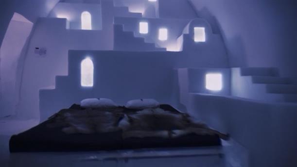 Ξενοδοχείο από πάγο στη Σουηδία