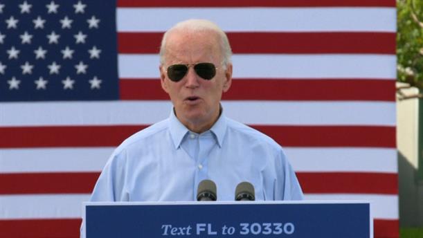 Εκλογές - ΗΠΑ: Ο Μπάιντεν δήλωσε πως «αν η Φλόριντα γίνει μπλε, έχει τελειώσει»